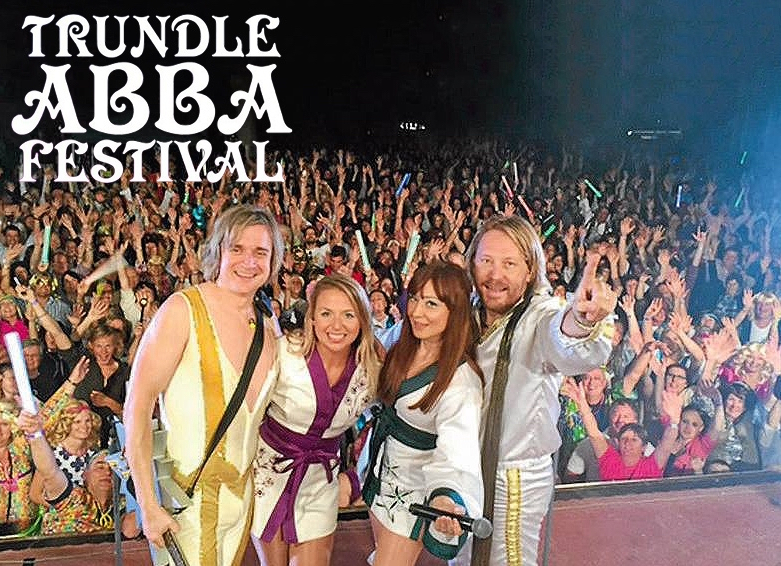 Bjorn Again Perform At The Trundle Abba Festival 2017 Bjorn Again